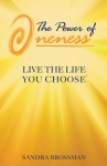 This is the book cover of the power of oneness, live the life you choose™ paperback.